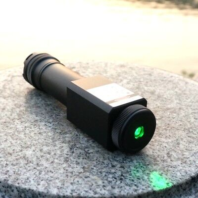 520t-1000 High Power 520nm Adjust Focus Green Laser Pointer Torch 5m Waterproof