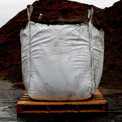 Horse Manure / Compost in Cubic Metre Bag / Bulk Bag for Garden & Landscaping