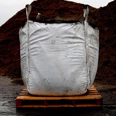 Horse Manure / Compost in Cubic Metre Bag / Bulk Bag for Garden & Landscaping