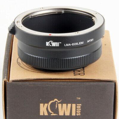 Kiwifotos Adaptador Objetivos Canon EF en Cámaras Sony NEX E-Mont