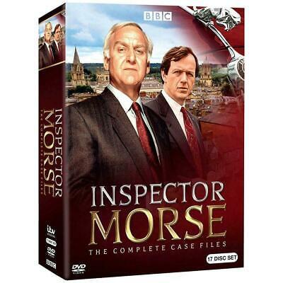 BBC Inspector Morse: The Complete Series DVD 17 DISC BOX Set REGION 1 USA Canada