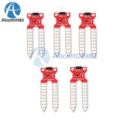 5pcs Soil Humidity Sensor Module Hygrometer Detection Module For Arduino 3.3v5v