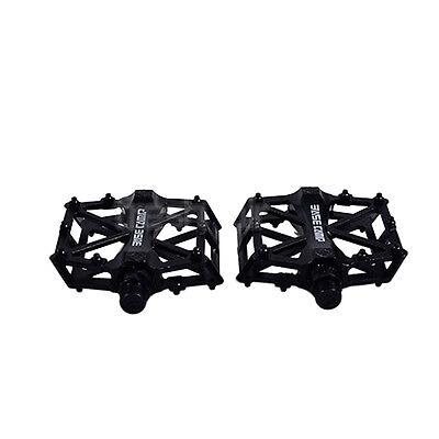 AGPtek Road Bike Pedals BMX Bike Bicycle Cycling Sealed Bearing Pedals Black New