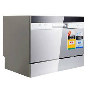 SALE:  5 Star Chef Electric Benchtop Dishwasher Silver Melbourne CBD Melbourne City Preview