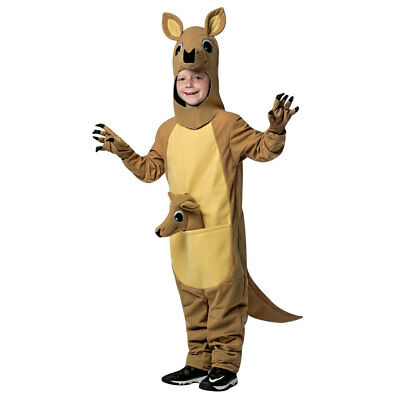 Child Kangaroo Mascot Halloween Costume - Kangaroo Costume Halloween
