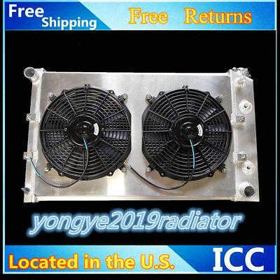 3 Rows Aluminum Radiator+Fan12