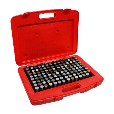 Gauge Set Metal Steel Plug 125 Pc Plus 0.626 - 0.750 Inch M4 Steel Pin Gage Set