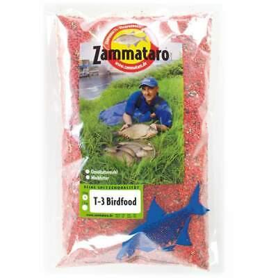 (6,29€/kg) Zammataro Futterzusatz T-3 Birdfood - 1kg - verschiedene Farben