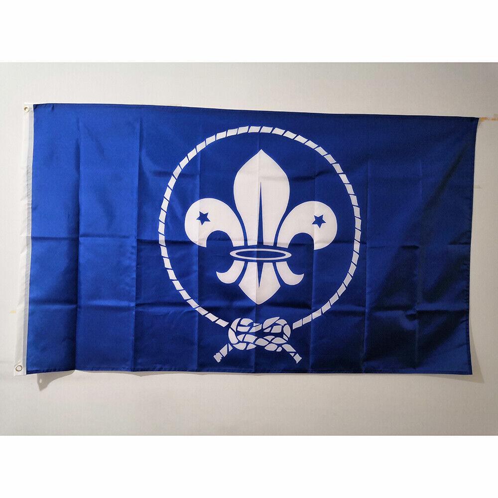 Cheap 3'x5' Scouts Flag Boy Scout Movement Flag Banner Polye