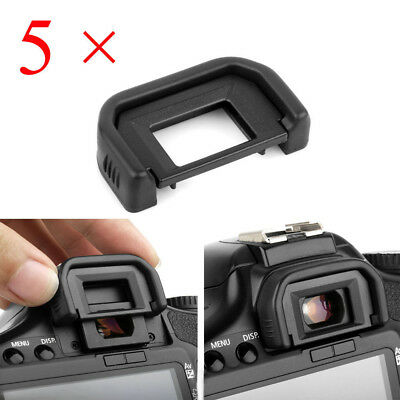 5pcs EF Gummi Sucher Augenmuschel Okular für Canon EOS 600D/550D/650D/700D/1000D