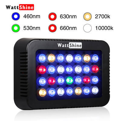 LED Aquarium Light Dimmable Control 140W For Navy Reef Fish Coral LPS SPS Nano
