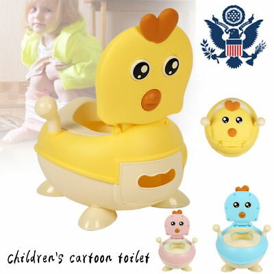 2 In 1 Potty Training Toilet Seat Baby Portable Toddler Chair Girl Boy Trainer