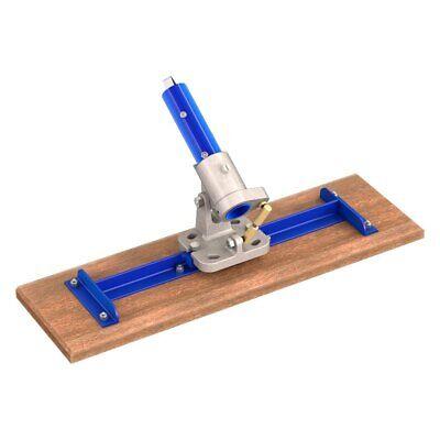 Bon 24 X 7-14 Square End Wood Bull Float W Rocknroll Adjustable Bracket