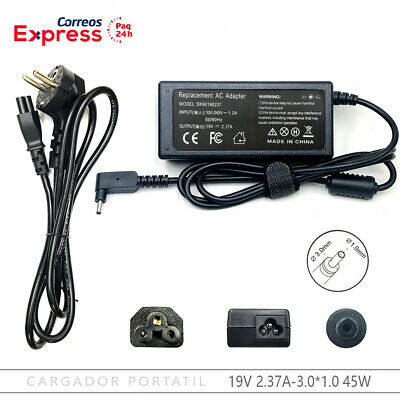 Cargador Acer TravelMate B117-M Serie B117-M-C2KX B117-M-C578 19V 2,37A 3,0*1,0
