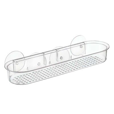 Interdesign #21700 Clear Suction Shelf Caddy