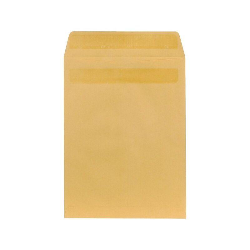 "Staples Self-Sealing Kraft Catalog Envelopes 9-1/2"" x 12-1/2"" Brown 100/BX"