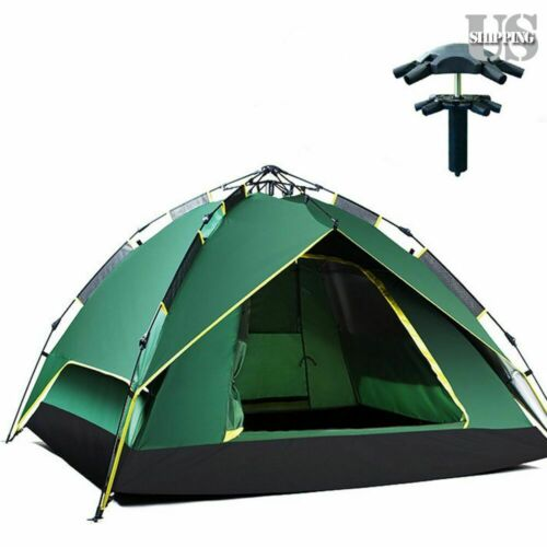 Waterproof 4 Person Hydraulic Instant Self Pop Up Automatic