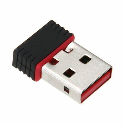 Mini USB Drive Wireless LAN Adapter 802.11 n / g / b Wireless Network Card J3H9 (Mini Wireless Lan Usb)
