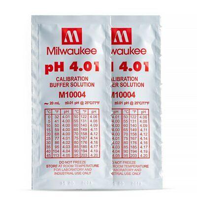 Milwaukee M10004b Ph 4.01 Calibration Solution Sachets 25