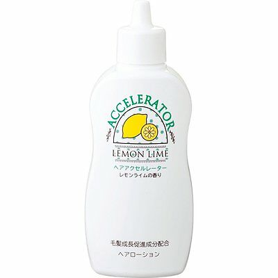 Hair accelerator aerator L (lemon-lime aroma) 150mL KAMINOMOTO New Japan