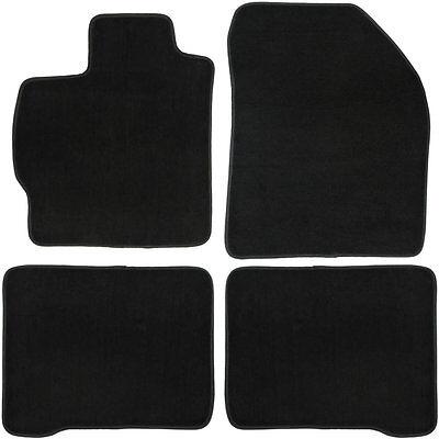 UAA Custom-fit Black Carpet Car Floor Mats Set for Toyota Prius 2010-2014