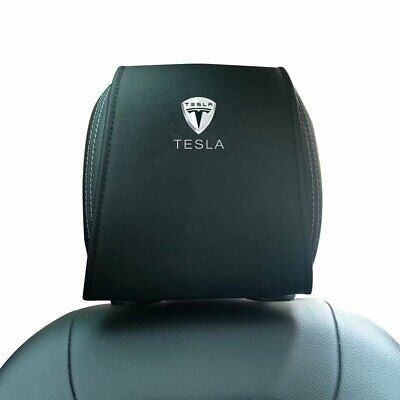 Car Headrest Travel Neck Support Holder Automobiles Seat Covers Fit for Tesla