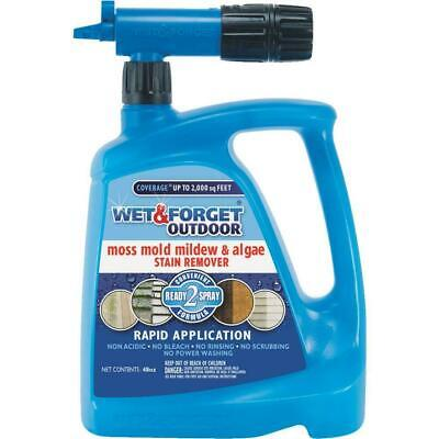 Wet And Forget Moss, Mildew, Algae, & Mold Stain Remover - 879288000077 - Mildew Stain Removal
