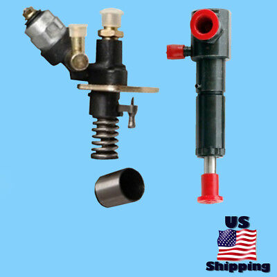 """Changfa Electric Fuel Pump & 4"""" Left Port Injector for CED6500X CED6500W Diesel"""