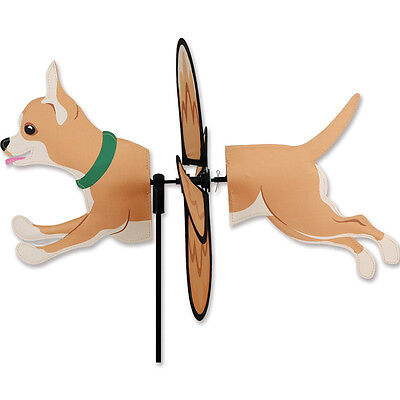 Chihuahua Garden Wind Spinners