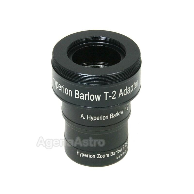 """Baader 1.25"""" 2.25x Hyperion Zoom Barlow with T Adapter # 2956180"""