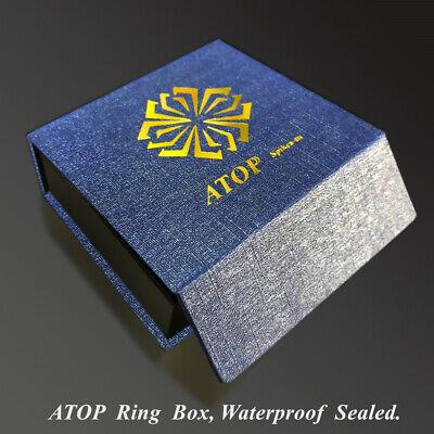 как выглядит Обручальное кольцо без камней 8Mm Dome Brushed Blue black Tungsten ring Wedding Band Bridal ATOP Mens Jewelry фото