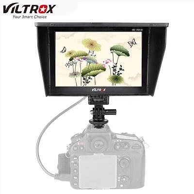 "Viltrox 7"" inch HD LCD Video Field Monitor Display Screen HDMI AV DSLR Camera US"