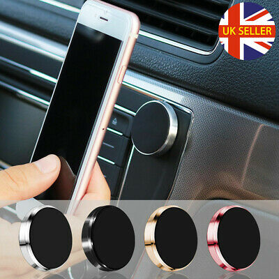 In Car Magnetic Mobile Phone Holder Fits Dashboard Universal Mount Stand UK