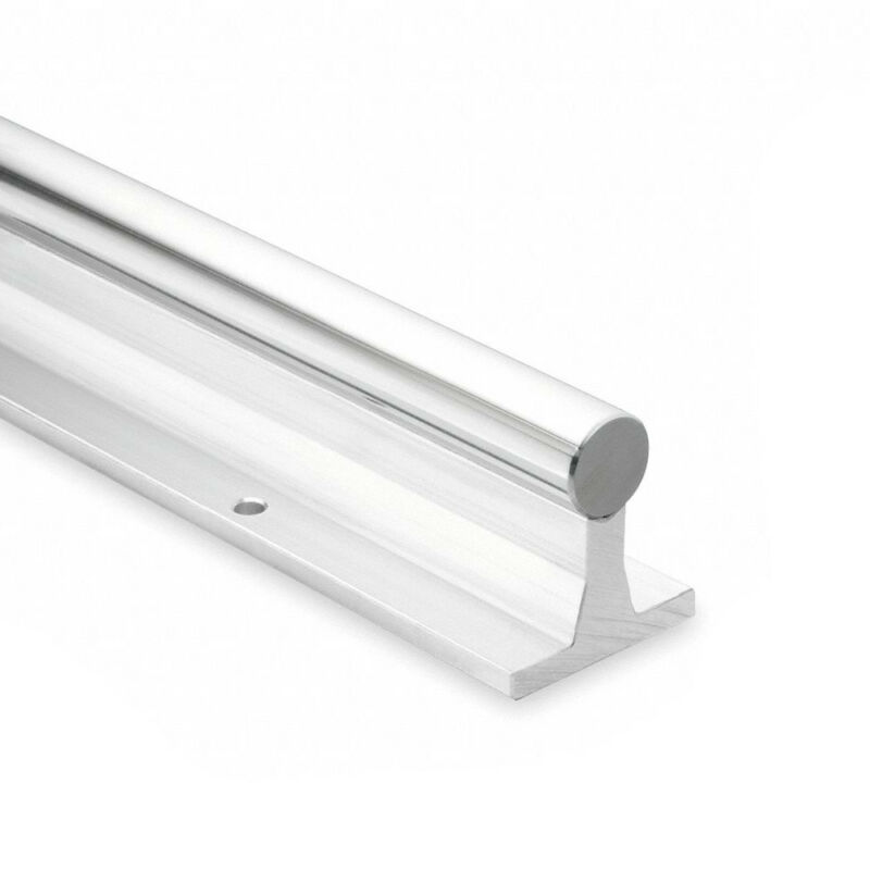 Thomson Linear Shaft Support Rail 60 Case Steel Shaft Aluminum Rail SRA12L48