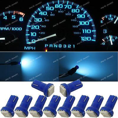 2PC HID-STYLE HYPER WHITE T10 194 LED LIGHT BULBS FOR CAR//TRUCK INTERIOR B3