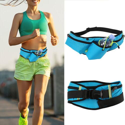 Outdoor Running Waist Pack Belt Zipper Hiking Pouch Wallet S