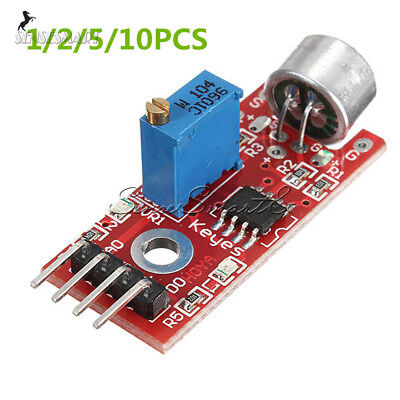 12510pcs Microphone Sensor Sensitivity Sound Detection Avr Pic For Arduino