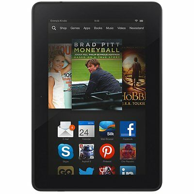 Amazon Kindle Fire HDX 7 (3rd Generation) 32GB, Wi-Fi (Unlocked), 7in - Black (Kindle Fire Hdx 7 32gb)
