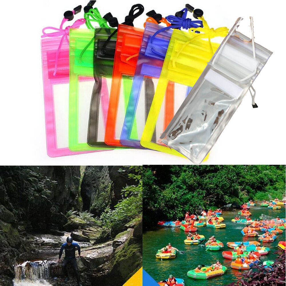 Transparent Travel Swimming Waterproof Bag Case Cover For 5.