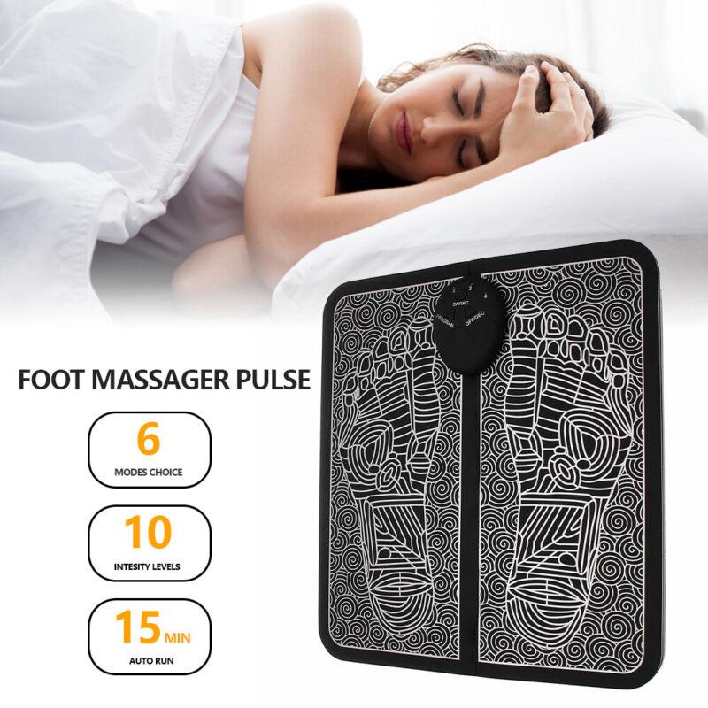 EMS Fußmassage FußMassagegerät Shiatsu Reflexzonen Massage mit Wärmefunktion Fuß