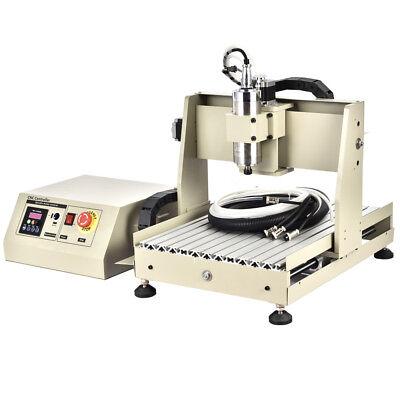 Usb Cnc3040t 4-axis Router 800w Engraving Cutting Engraver Machinehandwheel Rc