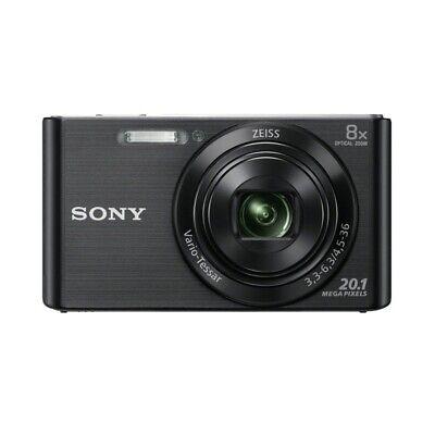 Sony DSC-W830 Cámara Digital 20,1 Megapíxeles 8x Óptico Zoom 2,7 Pulgadas Negro