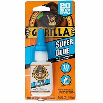 Super Glue, 20 Gram, Clear Adhesives & Sealers Hardware Tools Home Improvement
