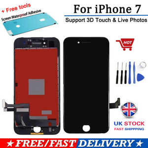 LCD Touch Screen For iPhone 7 Replacement Assembly Digitizer Black With 3D Touch