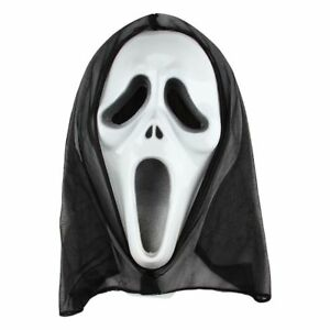 Scream Scary Ghost Face Fancy Dress Costume Mask Cosplay Halloween Party