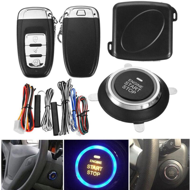 Start Push Button Remote Starter Keyless Entry Car SUV Alarm System Engine