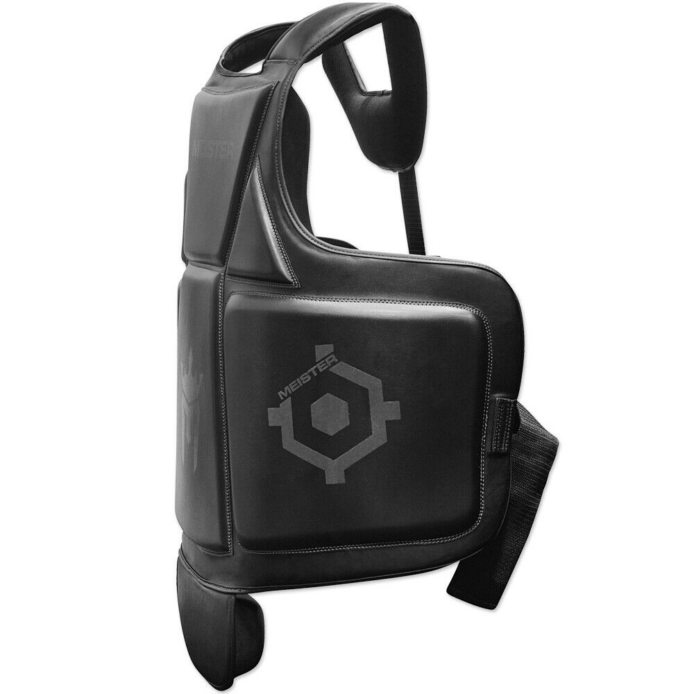 как выглядит MEISTER BODY ARMOR - MMA BOXING CHEST GUARD w/ Groin Protector Belly Pad ADULT фото