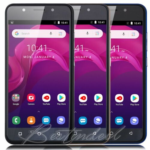 Android Phone - Android 8.1 Unlocked Cheap Cell Phone Quad Core 2SIM 3G GSM T-Mobile Smartphone