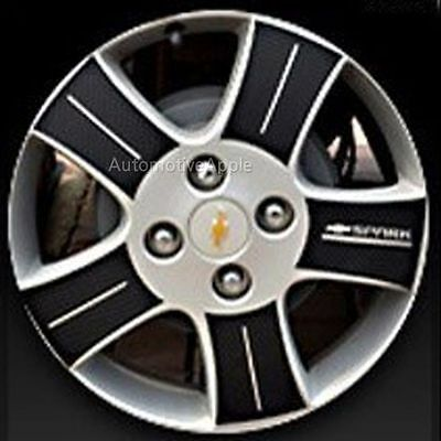 Left Right Carbon Tuning Wheel Sticker 14/'/' 1Set For 13 Chevy Spark