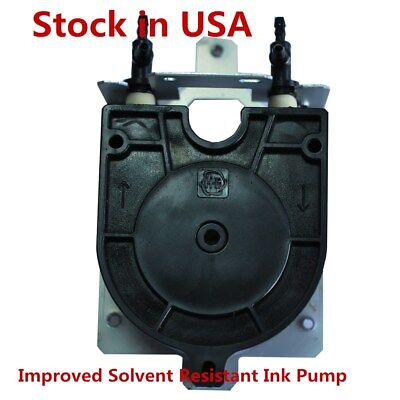 Us Roland Xj-540 Xc-540 Solvent Resistant Ink Pump With Three-way Tube Fitting